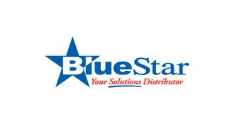 blue bluestar logo