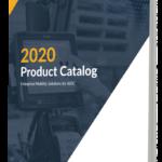 2020 product catalog close up
