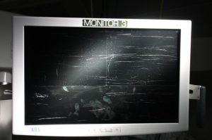 before monitor repair